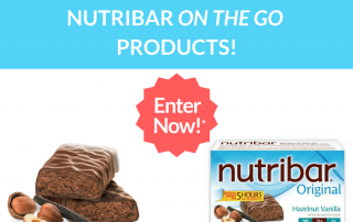 Win $100 worth of Nutribr On The Go Products!