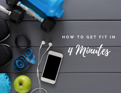 How To Get Fit In 4 Minutes Anywhere